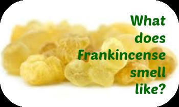 frankincense smell like